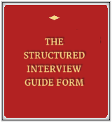 Structured Interview Guide Form
