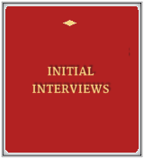Initial Interviews